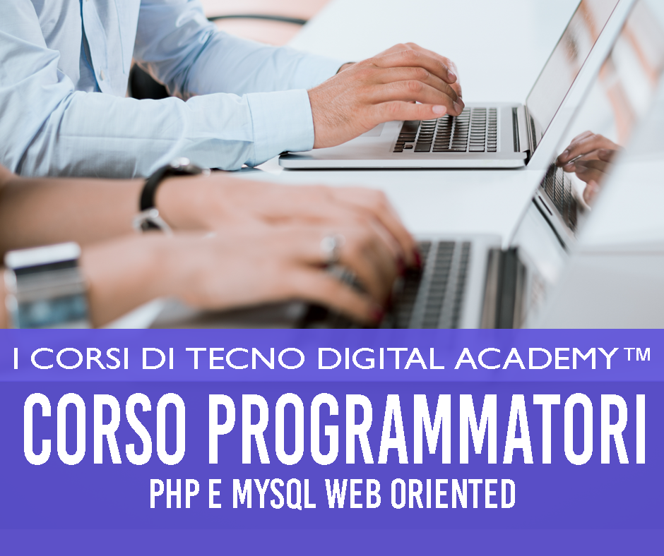 corso php e mysql orientato al web per realizzare siti internet