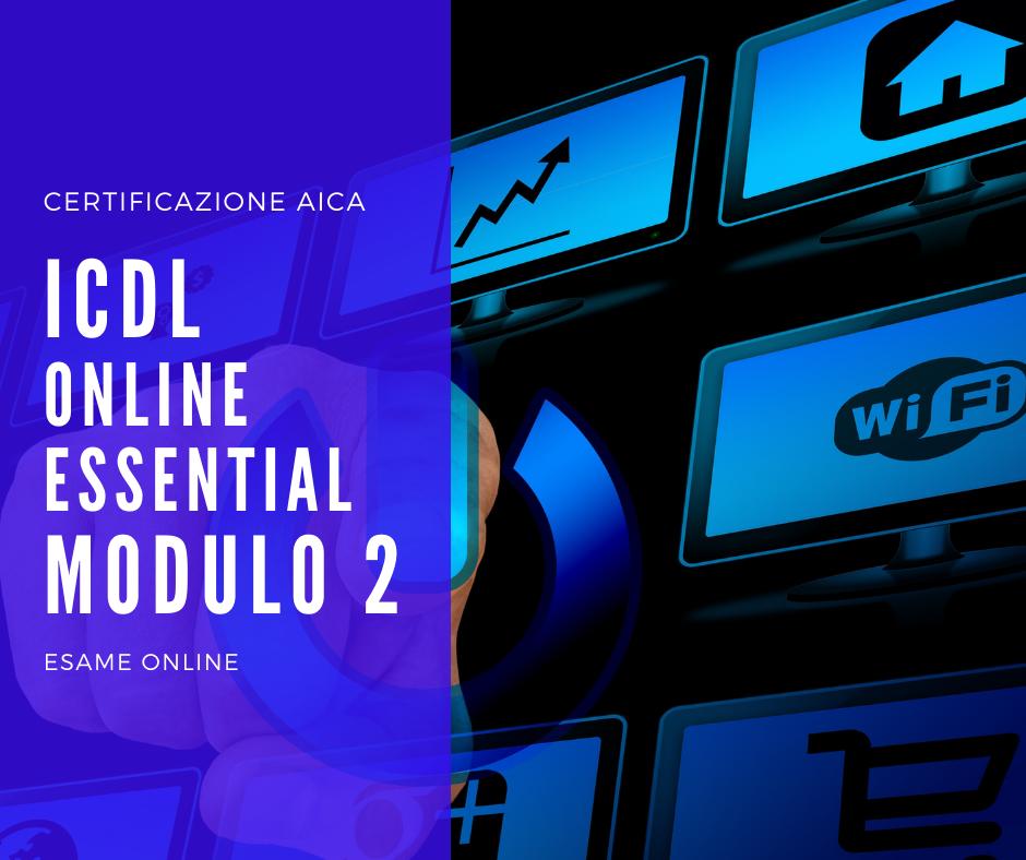 Ecdl ICDL Modulo2 online essential