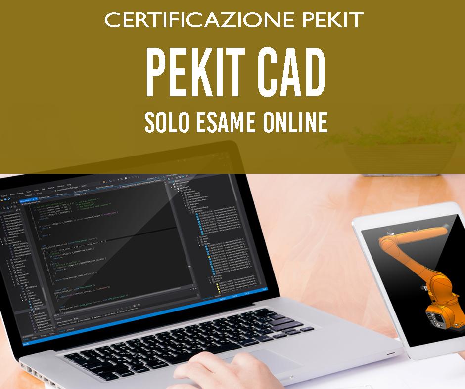 certificazione pekit cad Tecno Digital Academy