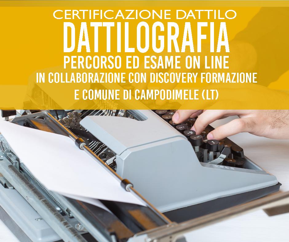 certificazione dattilo riconosciuta miur da pubblica amministrazione