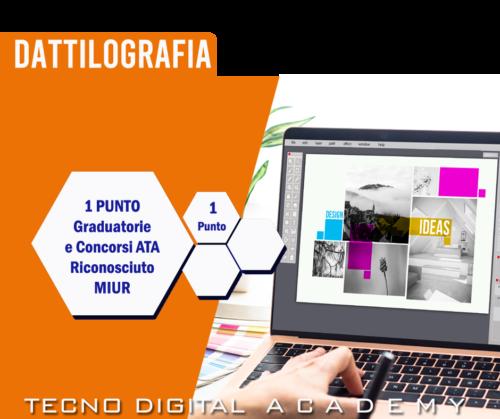 Corso e Certificazione Dattilografia online