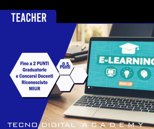 Corso e Certificazione Teacher riconosciuta Miur